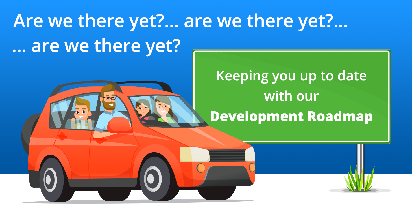 Are we there yet? Development roadmap